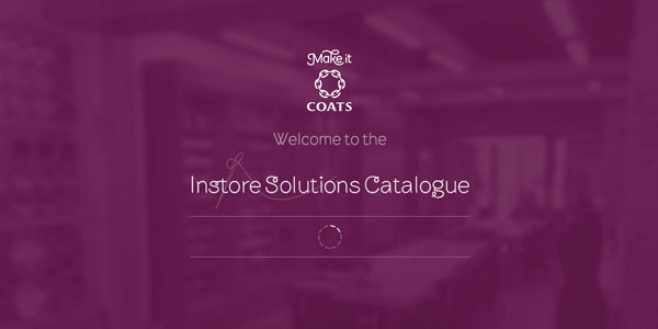 Coats Instore Solutions Catalogue